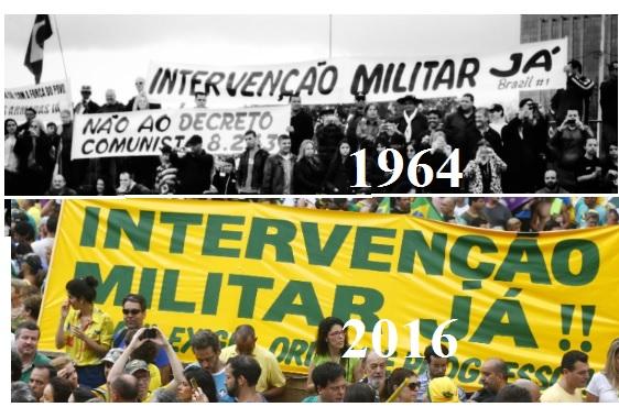 Fotos relacionadas a intervenção militar