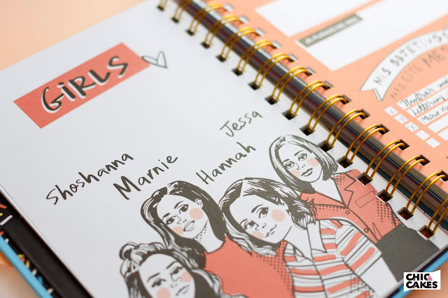 Agenda ilustrada 2019 Pedrita Parker