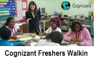 Cognizant Technology Hiring Freshers On 14th Jan 2017