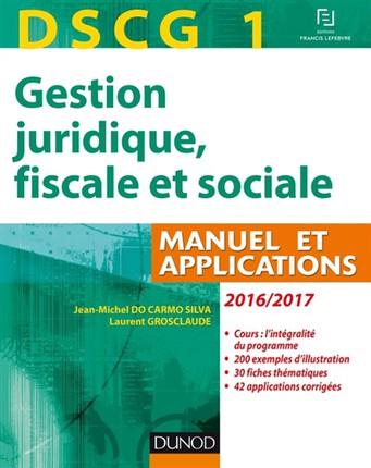 DSCG1 Gestion juridique, fiscale et sociale PDF