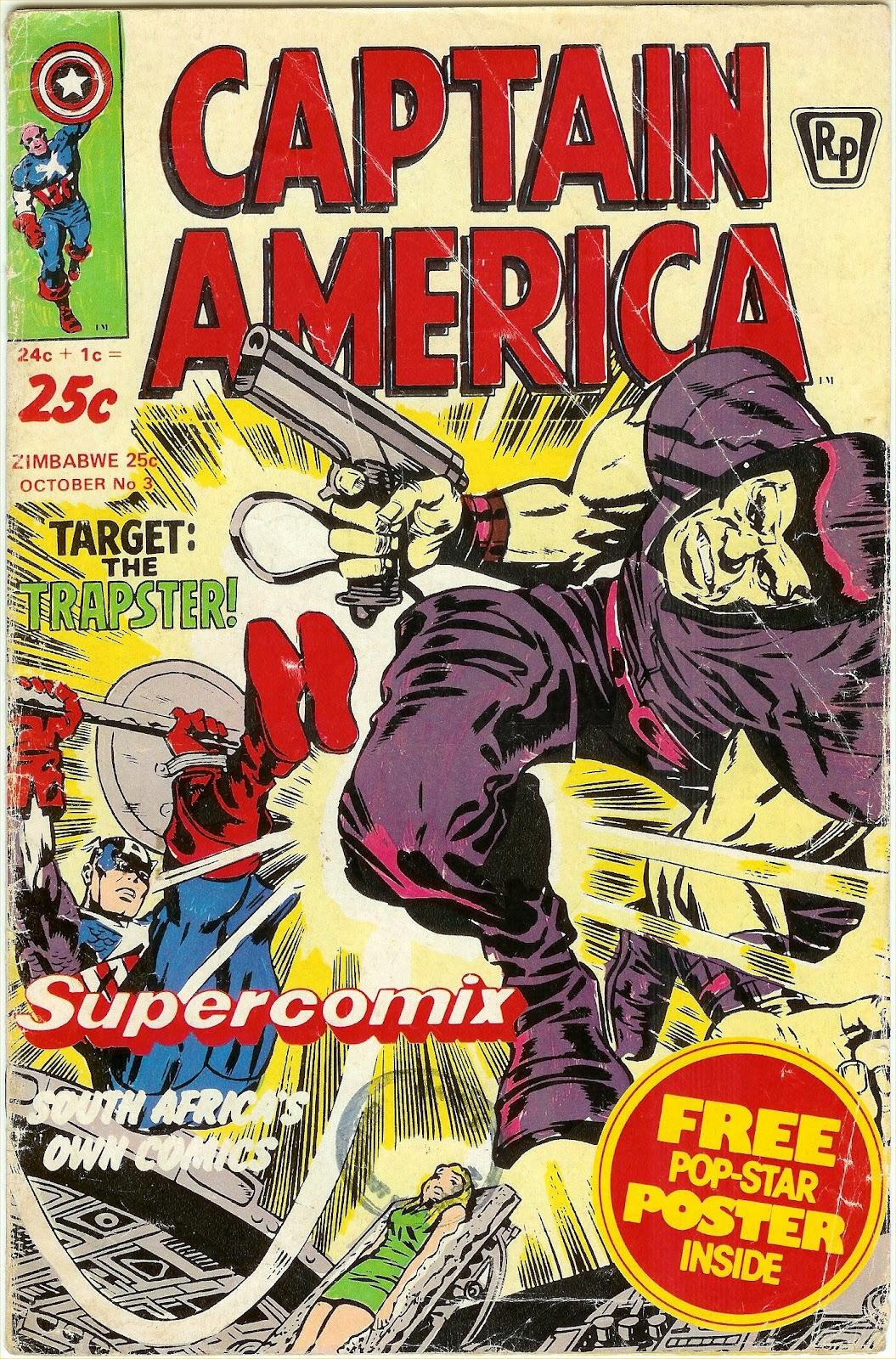 south african comic books supercomix captain america 3. Black Bedroom Furniture Sets. Home Design Ideas