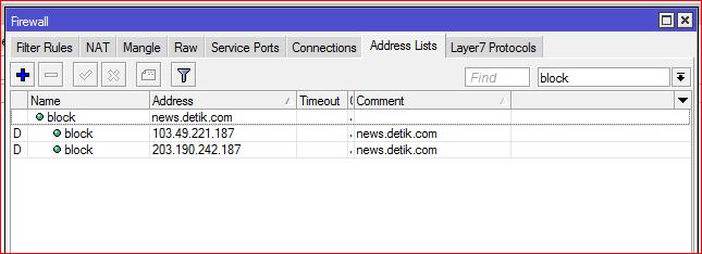 How to Mikrotik Block User Access HTTPS Websites