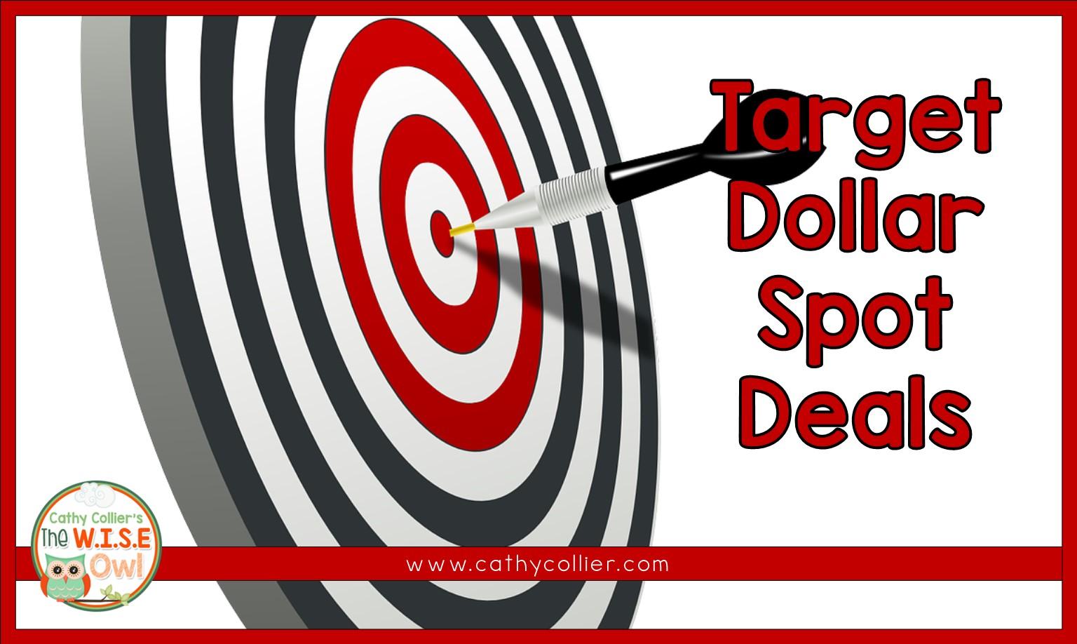 target dollar spot christmas signs