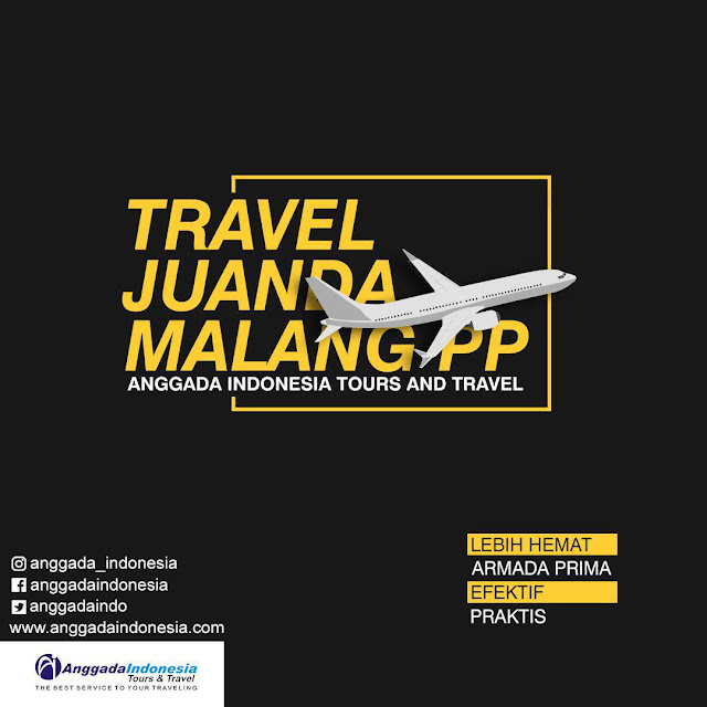 TRAVEL MALANG JUANDA / TRAVEL JUANDA MALANG