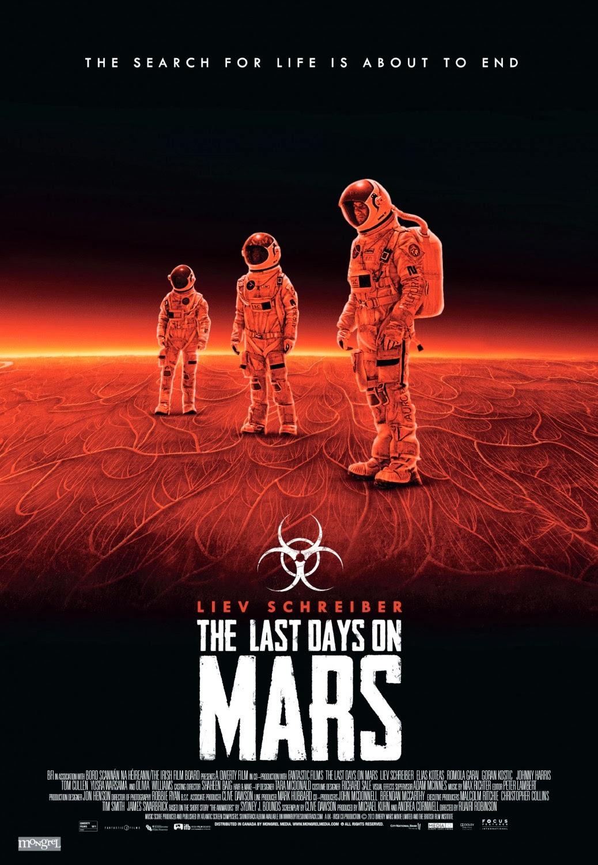 Capa do Filme O Planeta Vermelho
