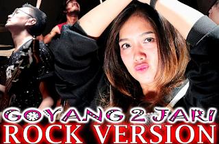 Download Lagu Goyang 2 Jari Versi Rock Mp3 By Flat Earth Cover 2018,2018,Flat Earth, Lagu Cover, Sadrina,