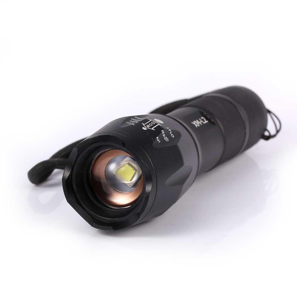 Taffware E17 Senter Led Xm L2 2000 Lumens Shop Okeguru 002 Gambar Produk