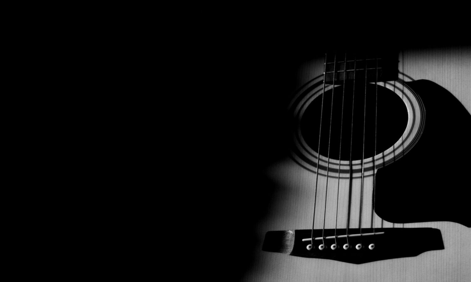 Wallpaper Hd 1080p Black And White Guitar Wallpapers Link
