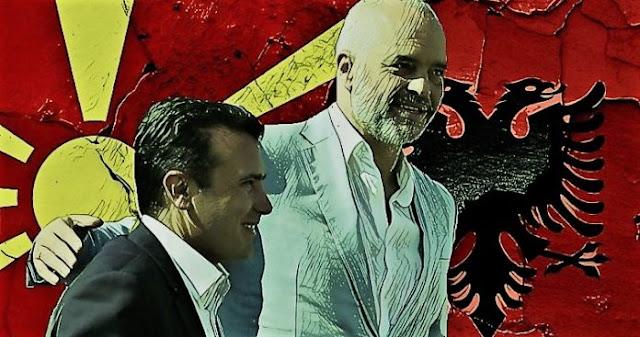 """Η Ελλάδα, η """"Μεγάλη Αλβανία"""" και η """"Ενωμένη Μακεδονία""""…"""