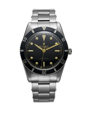 picture of the first rolex submariner from 1953