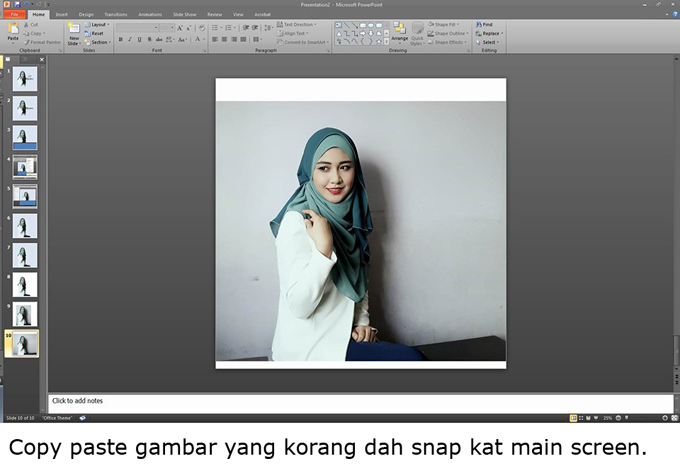 15 Langkah Edit Gambar Guna Powerpoint Untuk Promosi ...
