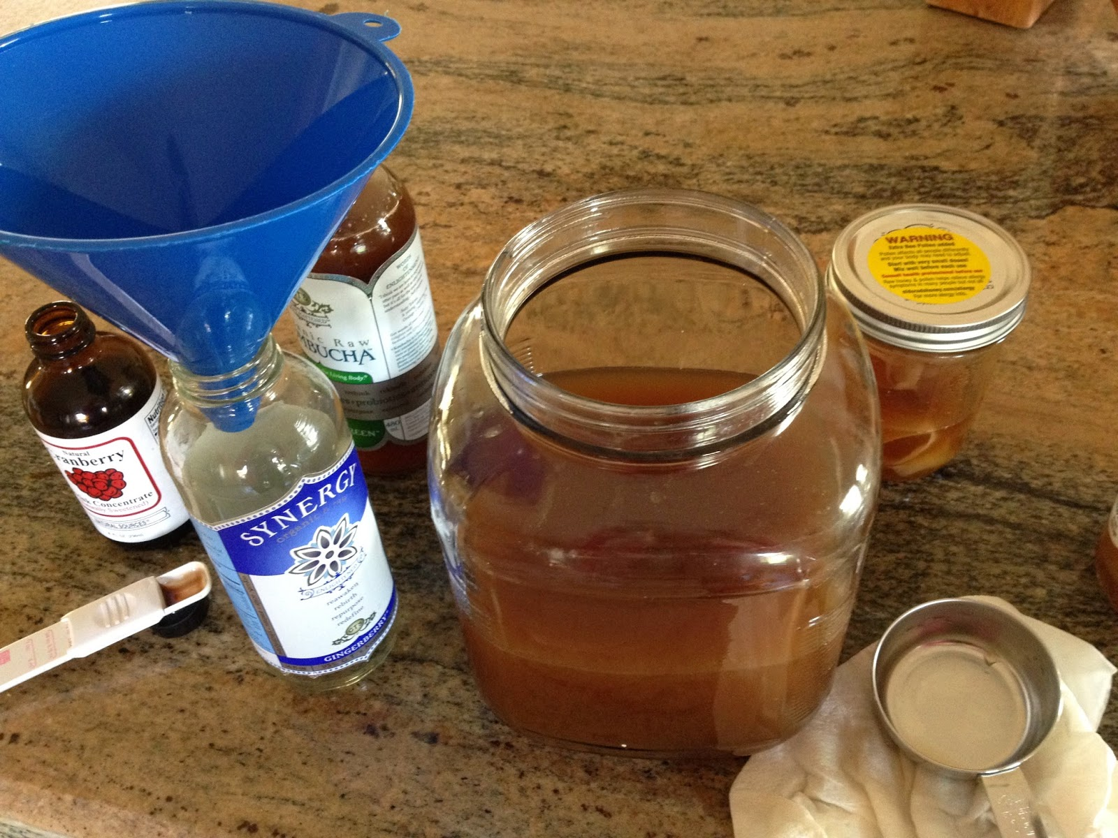 How to make Kombucha tea
