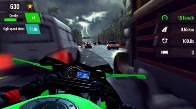 Moto Rush GT Gameplay