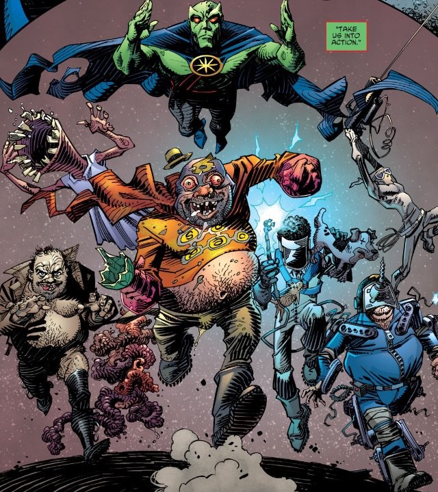 Weird Science DC Comics: All-Star Section Eight #3 Review