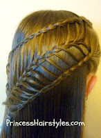 arrow braid hair style