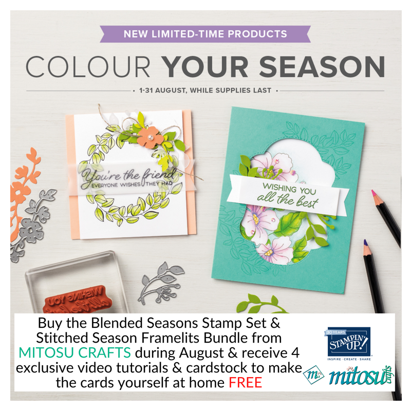 Blended Seasons Bundle Promo August 2018