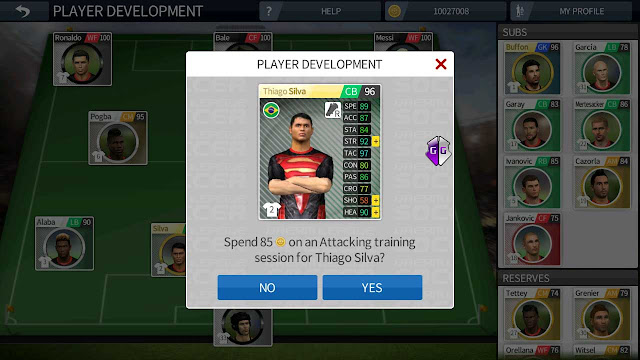 cheat unlimited player development dream league soccer 2016