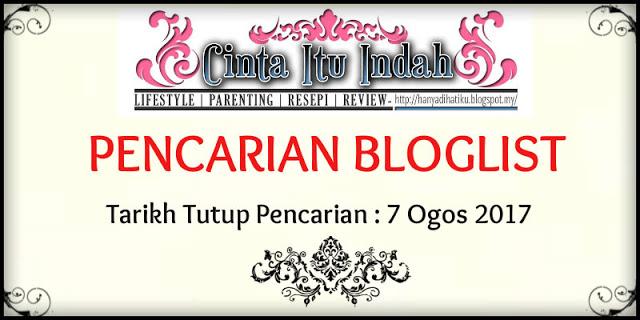 https://hanyadihatiku.blogspot.my/2017/07/pencarian-bloglist-ogos-2017.html?m=1