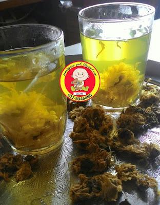 resepi teh bunga kekwa @ chrysanthemum