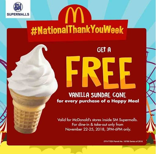All-Around Pinay Mama blog, SJ Valdez, National Thank You Week, McDonalds PH, McDonald's, SM Supermalls, SM Mall of Asia, AAPM Events, Events and Workshops,