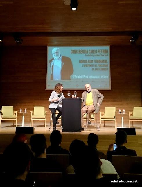Conferència Carlo Petrini