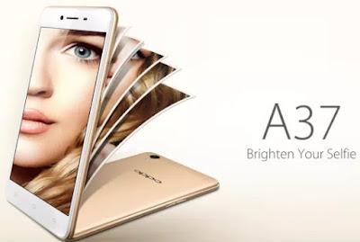 Oppo A37 4G LTE Layar 5 inci