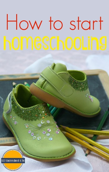 How to Start Homeschooling - lots of great advice and wisdom for new homeschool moms