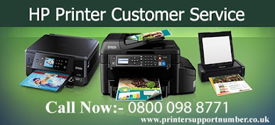 Hp printer customer service uk