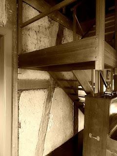 Paredes originais da antiga Casa Schmitt-Presser, Novo Hamburgo