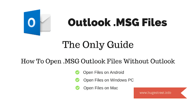 free msg outlook files viewer without outlook