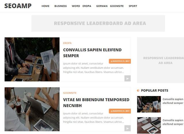 SCO AMP templates