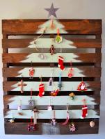 Χριστουγεννιάτικα δέντρα από φυσικά υλικά
