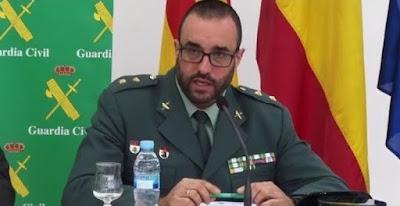 Tte. Cnel. de la Guardia Civil Daniel Baena (Foto de Internet)