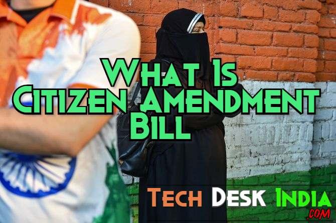 What is Citizenship Amendment Bill CAB