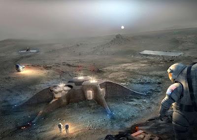 Si hay colonias humanas en Marte ¿dónde esta la evidencia?