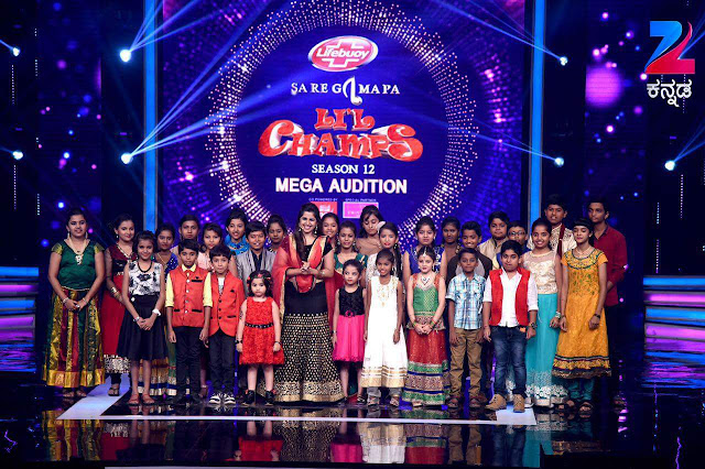 'Sa Re Ga Ma Lil Champs season 12' Show on Zee Kannada Wiki,Host,Timing,Promo,Registration,Judges