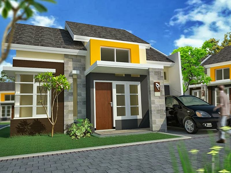 Foto Rumah  Minimalis Type  70  Desain Rumah