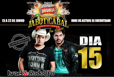 shows rodeio jaboticabal 2013 lista