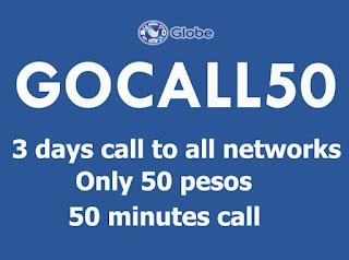 Globe GoCall50