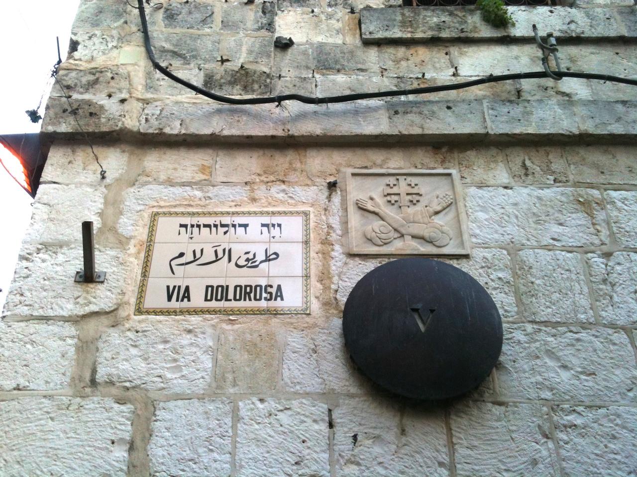 Kryžiaus kelias Jeruzalėje
