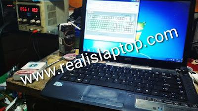 service laptop acer 4736 keyboard tidak berfungsi