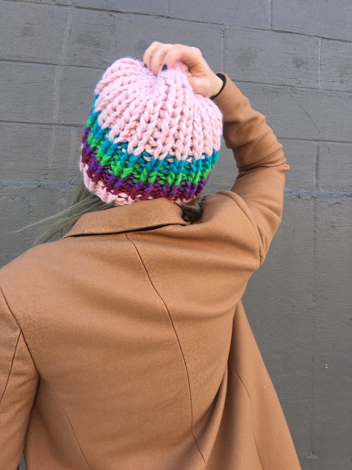 A colorful beanie hat you NEED