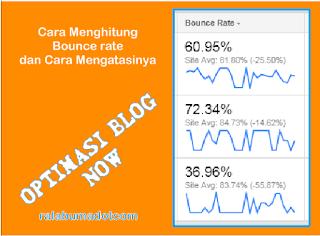 cara menghitung dan mengatasi bounce rate di web/blog