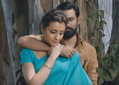 Trisha Krishnan & Dhanush Look, Images in Kodi Movie, Kodi Movie Images