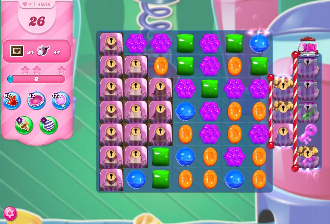 Candy Crush Saga level 4959