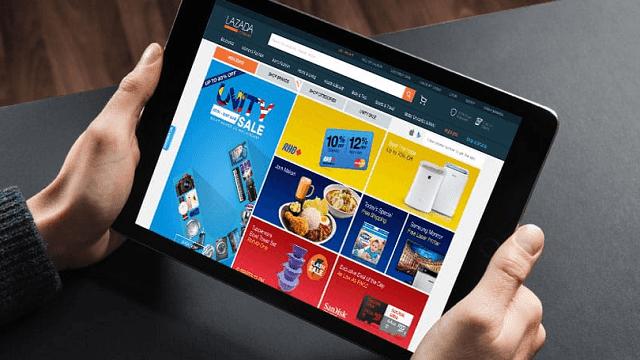 Lazada adalah e-commerce terbesar di Indonesia yang juga bekerjasama dengan alibaba