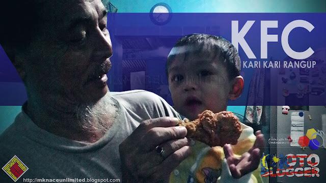 My KFC Kari-Kari Rangup Experience