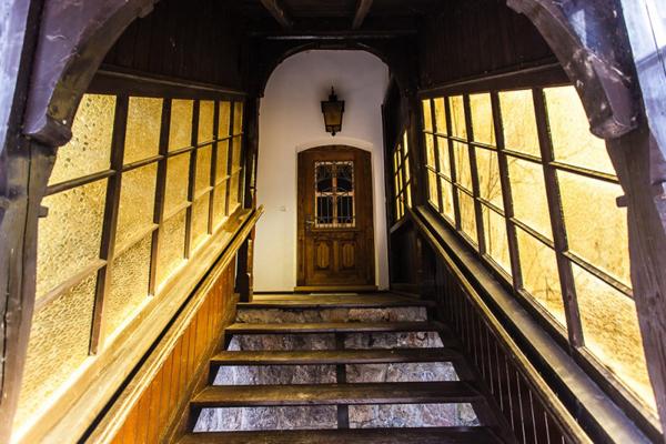 hostel Krokus Karpacz wejście