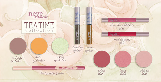 Neve Cosmetics full TeaTime Collection