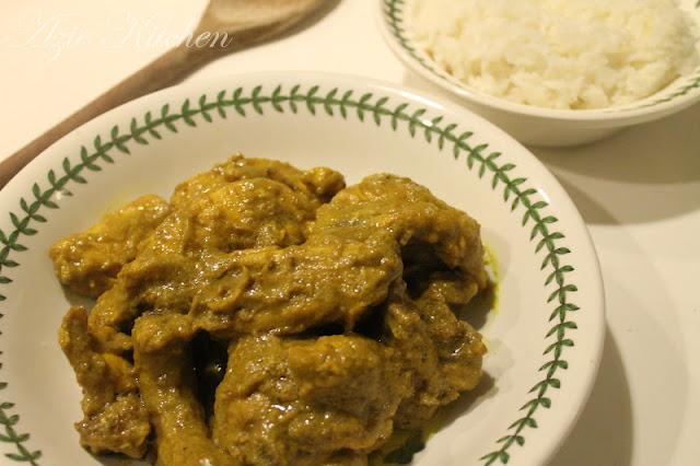 Rendang Cili Padi Ayam Stail Noghori
